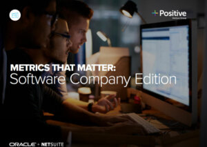 Metrics That Matter Software Company Edition