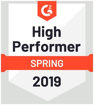 High Performer Spring 2019