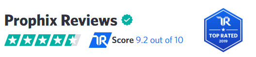 TrustRadius Top Rated Score